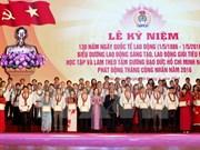 Conmemoran aniversario 130 del Día Internacional de trabajo en Hanoi