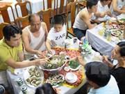 Productos marítimos y verduras en Ha Tinh responden a requisitos de inocuidad