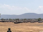Ejército tailandés realiza mayor ejercicio con fuego real