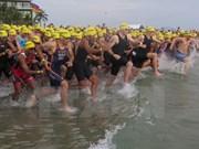 En Da Nang prueba de triatlón VNG IRONMAN 70.3, la más esperada de Asia