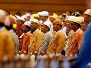 Parlamento de Myanmar aprueba establecimiento de nuevo ministerio