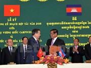 Refuerzan Vietnam y Camboya cooperación en lucha contra crímenes