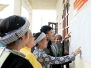 Vietnam aumenta cifra de representantes de minorías étnicas en órganos electos