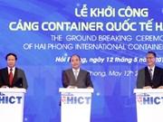 Emprenden construcción de puerto de contenedores Hai Phong