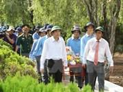 Entierran restos de combatientes vietnamitas caídos en Cambodia