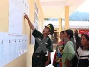 Realizan votaciones tempranas en comunas fronterizas de Lai Chau