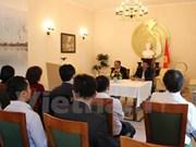Efectúan coloquio sobre presidente Ho Chi Minh en Alemania