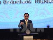 Primer ministro de Tailandia iniciará mañana su visita a Rusia