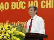 Instan en Vietnam a seguir ejemplo moral y pensamiento de Ho Chi Minh