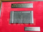 Exponen en Vietnam patrimonios documentales mundiales