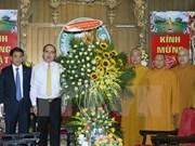 Felicitan a comunidad de seguidores budista por Vesak 2016