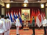 Tailandia concede condecoración a jefe militar vietnamita