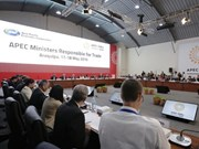 Ministros de comercio de APEC se reúnen en Perú
