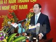 Presidente de Vietnam llama a científicos a coadyuvar a avance nacional