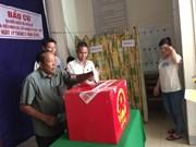 Organizan votaciones tempranas en comuna insular de Kien Giang