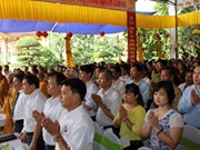 Conmemoran en Vietnam aniversario 2560 del nacimiento e iluminación de Buda