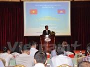 Efectúan coloquio sobre inversión vietnamita en Camboya