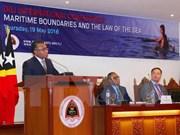 Conferencia en Timor Leste aborda los límites marítimos y el derecho del mar