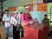 Más de 70 por ciento de votantes participaron en elecciones generales esta mañana