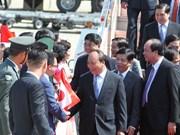 Primer ministro de Vietnam llega a Japón