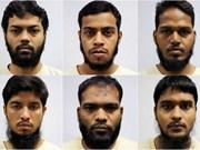 Seis bangladesíes enfrentan cargo de terrorismo en Singapur