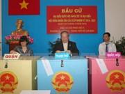 Ciudad Ho Chi Minh cumple exitosamente escrutinio de elecciones