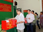 Publican varias provincias vietnamitas resultados preliminares de elecciones