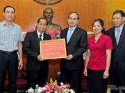Laos asiste a vietnamitas afectados por sequía y salinización
