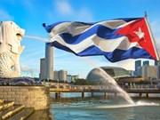 Vicepresidente del Consejo de Ministros de Cuba visita Singapur