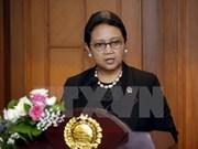 Indonesia reafirma apoyo al proceso de paz en Oriente Medio