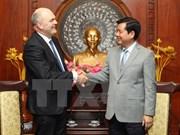 Nueva Zelanda aspira a promover cooperación con Vietnam