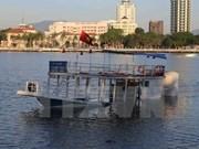 Inician procedimiento legal sobre hundimiento de barco turístico en Da Nang