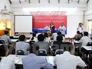 Asistencia vietnamita a Laos en formación periodística