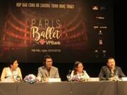 Efectuarán en Hanoi gala única de Paris- Ballet