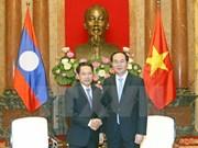Presidente pide fortalecer nexos Vietnam-Laos para superar desafíos