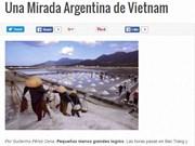 Prensa argentina resalta atracciones turísticas de Vietnam