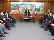Presidente de Vietnam aboga por facilitar inversiones de Hanoi en Champasak