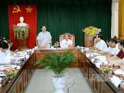 Vicepremier vietnamita examina desarrollo socioeconómico de provincia norteña