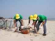 Lanzan en Vietnam campaña para mejorar conciencia pública sobre limpieza del mar