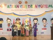 Inauguran IV Foro de los Niños de la ASEAN en Hanoi