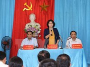 Presidenta parlamentaria urge a provincia norteña invertir en obras viales