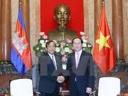 Vietnam y Camboya se comprometen a consolidar la solidaridad en ASEAN