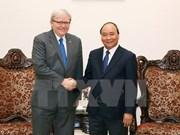 Vietnam fomenta relaciones de cooperación multifacética con Australia