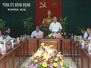 Presidente vietnamita realiza visita de trabajo a provincia central