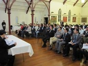 Efectúan encuentro entre empresarios vietnamitas en Nueva Zelanda