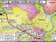 Aceleran proyecto de metro en Ciudad Ho Chi Minh