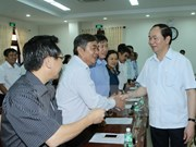 Presidente de Vietnam exhorta a Phu Yen a impulsar avance industrial