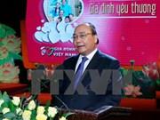 Premier resalta importancia de valores de familia para el pueblo vietnamita