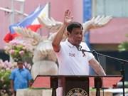 Rodrigo Duterte jura como presidente de Filipinas