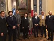 Vietnam intensifica relaciones con Argentina